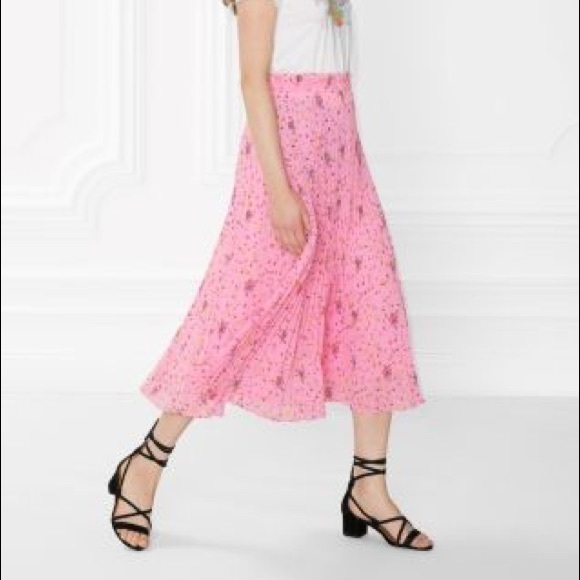 other stories skirts other stories pink floral midi skirt poshmark other stories pink floral midi skirt mightylinksfo